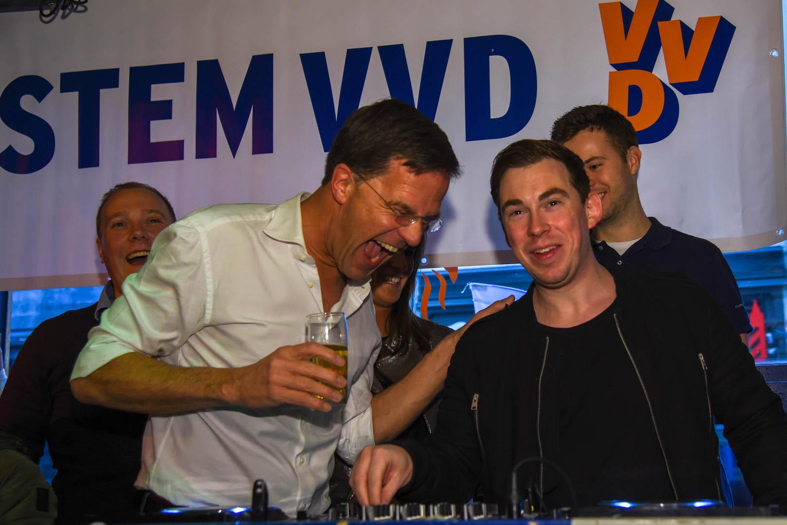 Mark Rutte in Breda